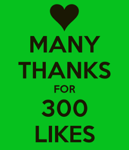 many-thanks-for-300-likes